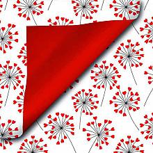 Cadeaupapier 50cm dessin 517 Royal Love Flower
