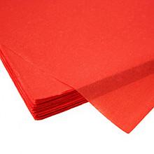 Zijdevloei papier 50x75cm 17gr 480 vel rood