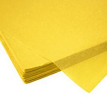 Zijdevloei papier 50x75cm 480 vellen geel