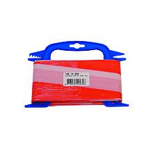 ( Corona ) Afzetlint kleinverpakking 50 meter  rood/wit