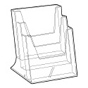 Folderbak acryl A5 staand 3-vaks
