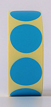 Sluitzegel / sticker / etiket rond 30mm 1000 stuks BLAUW