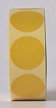 Sluitzegel / sticker / etiket rond 30mm 1000 stuks GEEL