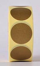 Sluitzegel / sticker / etiket rond 30mm 1000 stuks GOUD