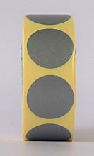 Sluitzegel / sticker / etiket rond 30mm 1000 stuks GRIJS