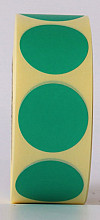 Sluitzegel / sticker / etiket rond 30mm 1000 stuks GROEN