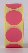 Sluitzegel / sticker / etiket rond 30mm 1000 stuks ROZE