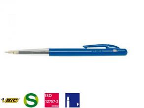 Balpen Bic M10 blauw fijn 50 stuks