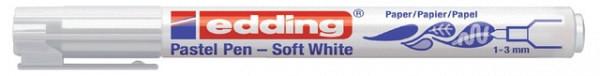Viltstift edding 1500 soft wit