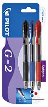 Gelschrijver PILOT G2 assorti 0.32mm blister à 3 stuks