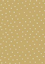 Cadeaupapier 50cm K40860/13-30 white hearts 30 cm