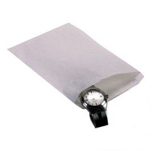 Papieren zak kraft 17.5x26cm 40 gram 1000 stuks wit gebleekt