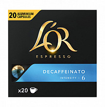 Koffiecups L'Or Espresso Decaffeinato 20 stuks