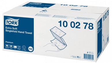 Handdoek Tork H3 100278 Premium Z 2laags 23x23cm 15x200st