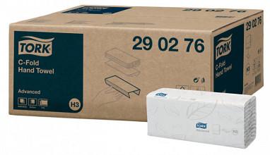 Handdoek Tork H3 290276 Advanced C 2laags 49x25cm 20x80st