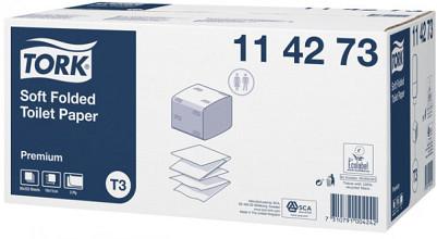 Toiletpapier Tork T3 114273 Premium 2laags 252vel 30 bundels wit