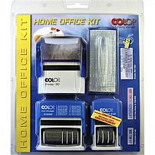 Stempel Colop starterset Home/Office zwart