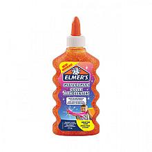 Kinderlijm Elmer's glitter 177ml oranje
