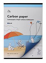 Carbonpapier A4 21x29,7cm 100x blauw