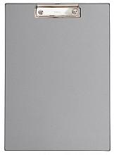 Klembord MAUL A4 staand zilvergrijs