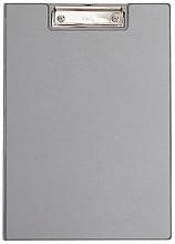 Klembordmap MAUL A4 staand met penlus zilvergrijs