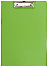 Klembordmap MAUL A4 staand met penlus neon groen