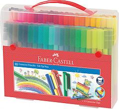 Kleurstift Faber Castell Connector cadeauset à 80 stuks assorti