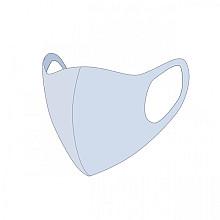 Mondkapje wasbaar lichtblauw