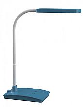 Bureaulamp MAUL Pearly LED colour vario dimbaar atlantic blue