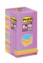 Memoblok 3M Post-it 654 76x76mm color notes