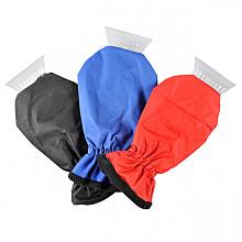 IJskrabber ProPlus met fleece handschoen assorti