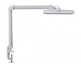 Werkpleklamp MAUL Intro LED tafelklem dimbaar wit