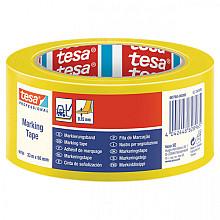 Markeringstape Tesa 60760 PVC 50mmx33m geel