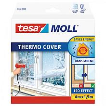 Isolatiefolie Tesa Moll 05432 voor ramen 1,5mx4m transp