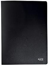 Showmap Leitz Recycle A4 40-tassen gerecycled PP zwart