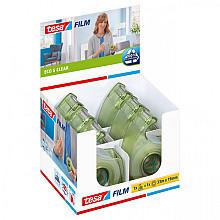 Plakband Tesa 57069 eco&clear 19mmx33m in dispenser
