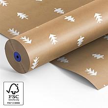 Rol papier 60cm bruin kraft 40 grams Kerstboom  circa 12 kilo