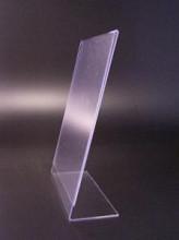 L-standaard acryl staand 105x210mm