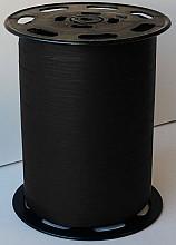 Krullint paperlook 10mm x 250 meter kleur 23 Zwart