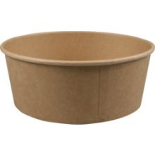 Salade bakken (bowl) karton rond 182mm x 66mm 1300ml   50 stuks