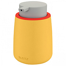Dispenser Leitz Cosy voor handzeep 300 ml geel