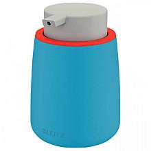 Dispenser Leitz Cosy voor handzeep 300ml blauw