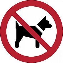 Pictogram Tarifold honden niet toegestaan ø200mm