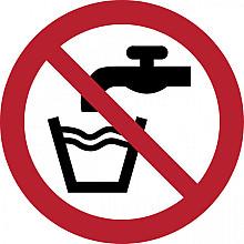Pictogram Tarifold geen drinkwater ø100mm
