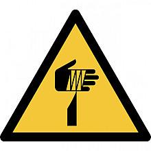 Pictogram Tarifold waarschuwing scherpe elementen 200x176mm