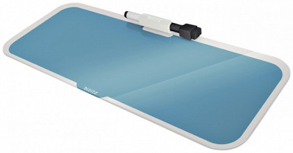 Glas Desktop Pad Leitz Cosy blauw
