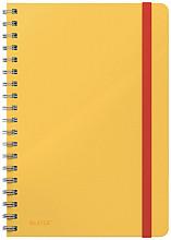 Notitieboek Leitz Cosy B5 lijn spiraal geel