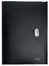 Dossiermap Leitz Recycle A4 3-kleps PP zwart