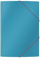 Elastomap Leitz Cosy A4 3-kleps blauw