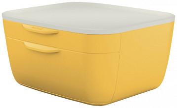 Ladenblok Leitz Cosy 2 laden geel